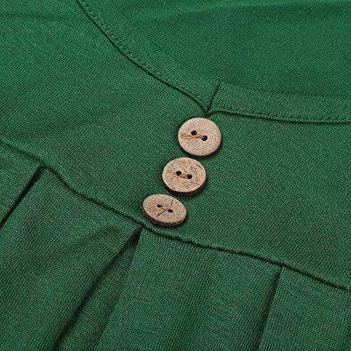 Sleeveless Ragazza Senza Pieghe Collo Elegante Gr Estivi Monocromo Rotondo Spalline Canotte Basic Top Donna Casual Moda Irregular Button Sottile Tops Canottiera vOR0PXqq