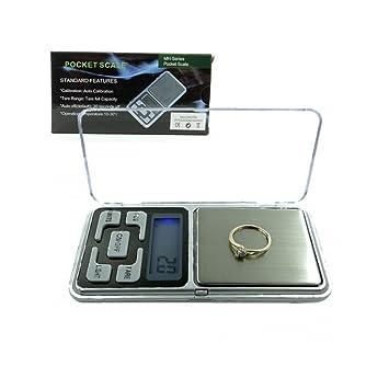 Báscula de precisión Pocket – Frazioni de Grammo