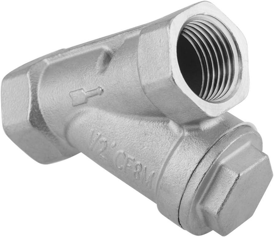 Vapor y Otros Medios para el Sistema de Tuber/ías Colador Y 1//2 Filtro de la Bomba de Acero Inoxidable en Tipo Y para Agua