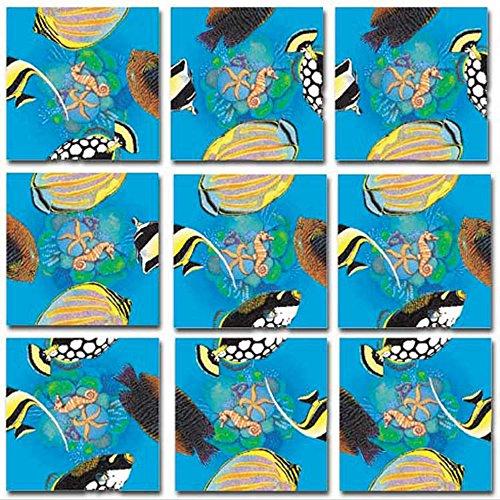 (B.Dazzle Scramble Squares: Tropical Fish)