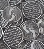 Set of 10 Footprints Pocket Token Coins