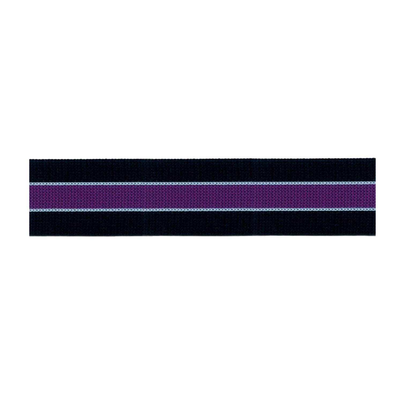 S.I.C. ニットラインテープ C/#12 ブラック×パープル×シャーベットブルー 1反(30m) SIC-1207   B07LG3P961