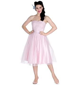 Hell Bunny Party Prom Dress Princess Fairy Tamara Net Dolly Pink XS 8