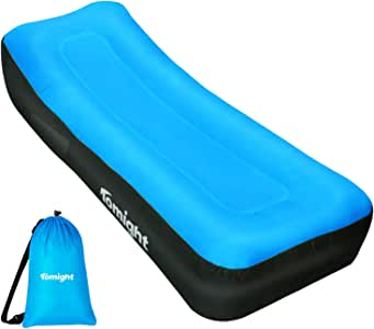 Tomight Inflatable Lounger, Air Sofa Hammock for Travelling, Camping, Hiking, Waterproof Inflatable Couch for Backyard, Lakeside,Beach
