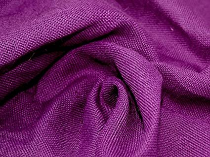 Combustibles celulósicos tela de arpillera yute de colores morado oscuro -  por metro Minerva Crafts Craft a4c93f337910