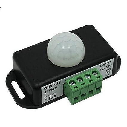 Dc Infrared Sensor Led Light 8a Motion Coromose Quality Switch For 12v 24v Automatic Pir QrdeWxBCo