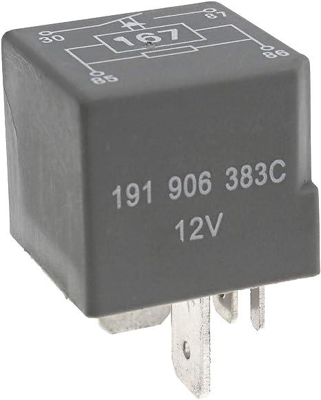 Ototec 191906383c Kraftstoffpumpe Relais Ersatz Für Auto Küche Haushalt