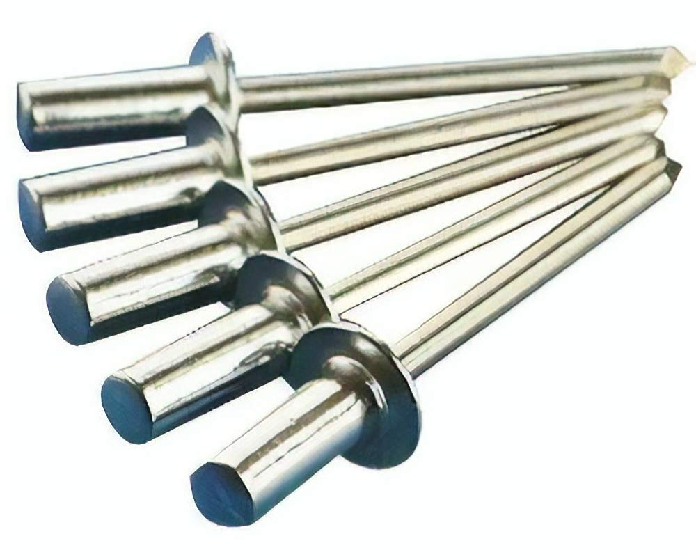 25 POP Rivets Stainless 6-6 CLOSED/SEALED 3/16'' Dia x 3/8'' Max Grip