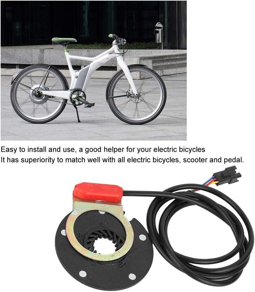Gorgeri Assistant Sensor Black Electric Bicycle Scooter Pedal Assistant Sensor 5 Magnet Accessory Kit