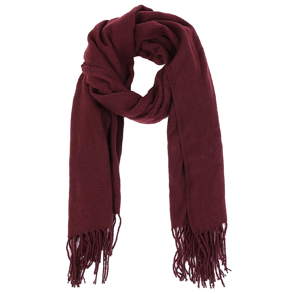 VBIGER Winter Warm Scarf Thick Shawl Unisex Oversize Scarves for Men Women