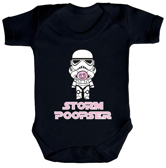 neue auswahl zeitloses Design schön in der Farbe Geschenk zur Geburt Strampler Bio Baumwoll Baby Body kurzarm Jungen Mädchen  Mädchen - Stormpooper