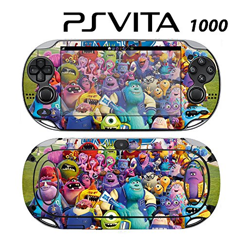 Skin Decal Cover Sticker for Sony PlayStation PS Vita (PCH-1000) - Monster University -  Decals Plus
