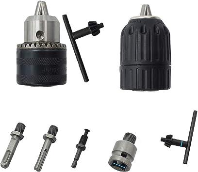 Elektrisch Bohrfutter Mit Sds Schlüssel Adapter Konverter Elektrowerkzeug Hammer