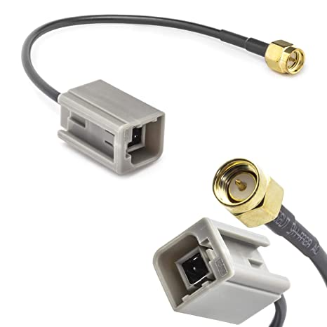 Adaptador de Antena de Coche GT5 (M) Macho a SMA (M) Macho, Cable ...