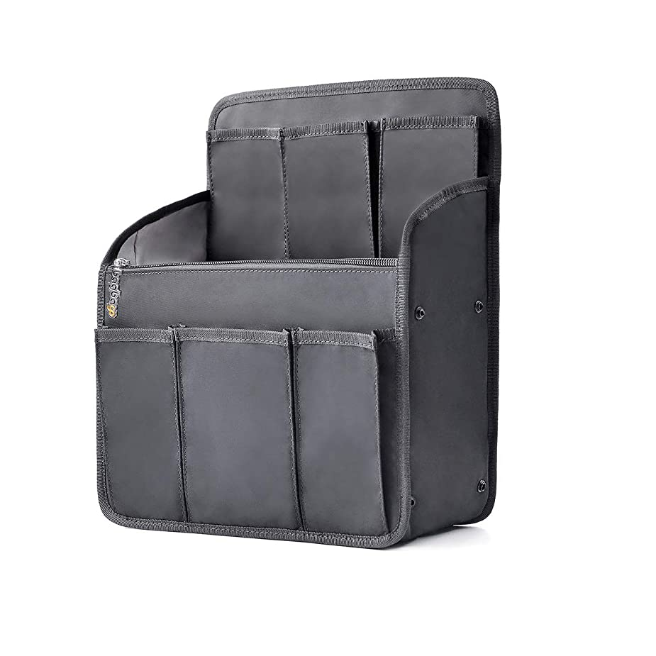 しばしば器官囚人[FOOTSTEPS]バッグインバッグ フェルト 小さめ A5-軽量-コンパクト-レディース-インナーバッグ-バッグ内整理