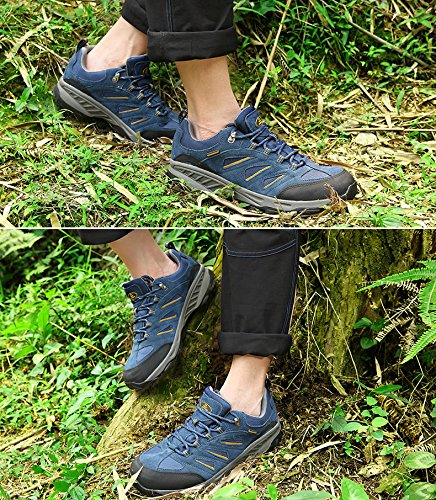 Shoe Outdoor Hiking Women's amp; Breathable First Blue Waterproof The CFw0g0