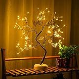 Luminária de LED para árvore de bonsai WESSD, luzes artificiais para árvore de bonsai para presente, casa, casamento, festiva