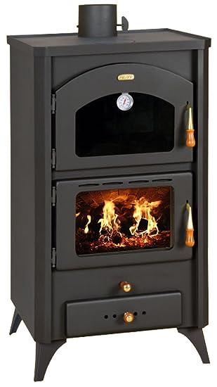 Quemador de troncos para chimenea de combustible sólido 14 kW horno estufa de leña Prity FGR: Amazon.es: Bricolaje y herramientas