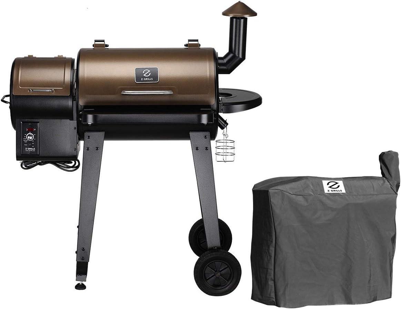 Z-GRILLS-ZPG-450A-Wood-6-in-1-Pellet-Grill