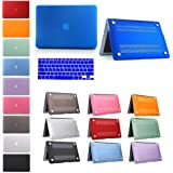 """UC Macbook Retina Display 13-inch Blue Crystal Hard Shell Clip Snap-on Case for Apple Macbook Pro 13"""" with Retina Display - Fits Model A1425 / A1502"""