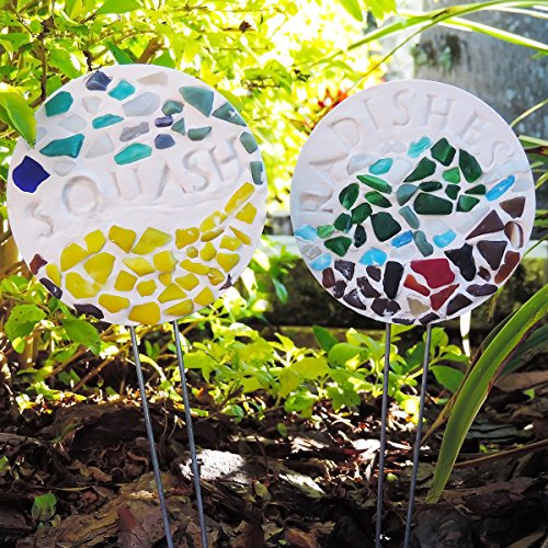 (Diamond Tech Crafts K1595 Mosaic Garden Stakes Kit)