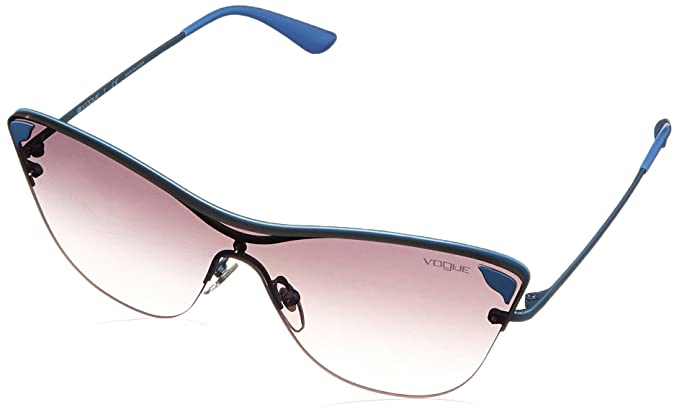 c5b0f6999ce0b Image Unavailable. Image not available for. Color  VOGUE Women s Metal  Woman Sunglass Non-Polarized Iridium Square ...