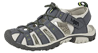 8f0604c0948a PDQ Mens Toggle   Touch Fastening Sports Trail Sandals  Amazon.co.uk  Shoes    Bags