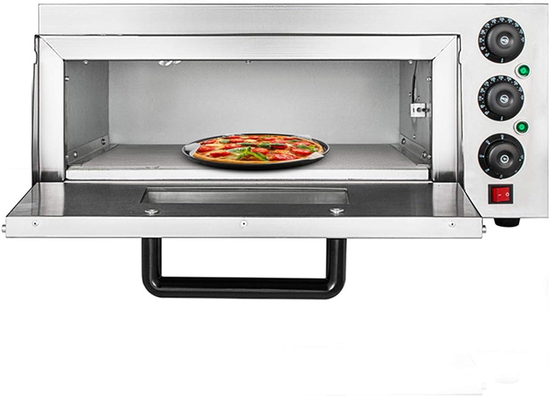 Comercial 2000 W eléctrico Horno para pizzas individual ...