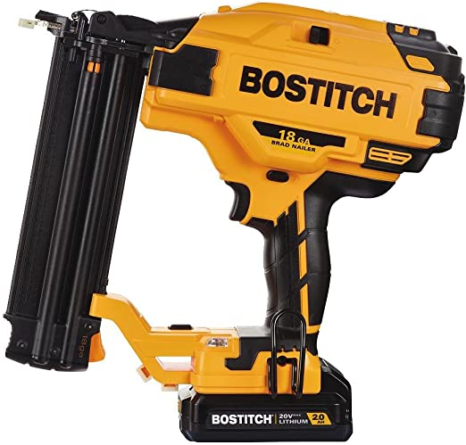 Bostitch 20v Max Cordless Brad Nailer Kit 18ga Bcn680d1