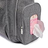 Bag Nation Diaper Bag Backpack with Stroller