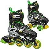 Roller Derby Flux Boys Inline/Roller Combo Skate Small (12-2)