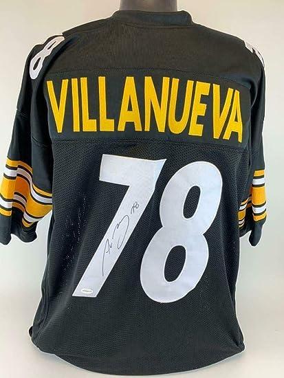 super popular 64951 79d52 Autographed Alejandro Villanueva Jersey - Custom TSE coa 2 ...