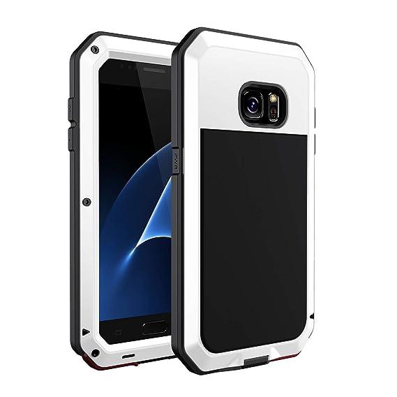 Amazon.com: Seacosmo Funda para Galaxy S7, a prueba de ...
