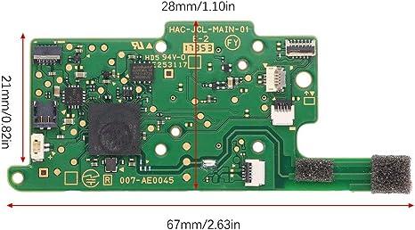 Formulaone - Módulo de Placa Base PCB para Consola Nintendo Switch para Switch NS Joy-con, Color Verde: Amazon.es: Electrónica