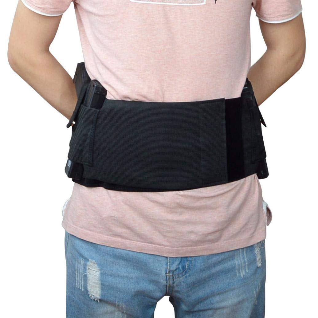 Belly Band Holster,Fitness belt belt Concealed Carry Adjustable Tactical Holsters Waistband Holster