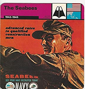1977 Edito-Service, World War II, 16.03 The Seabees, USA