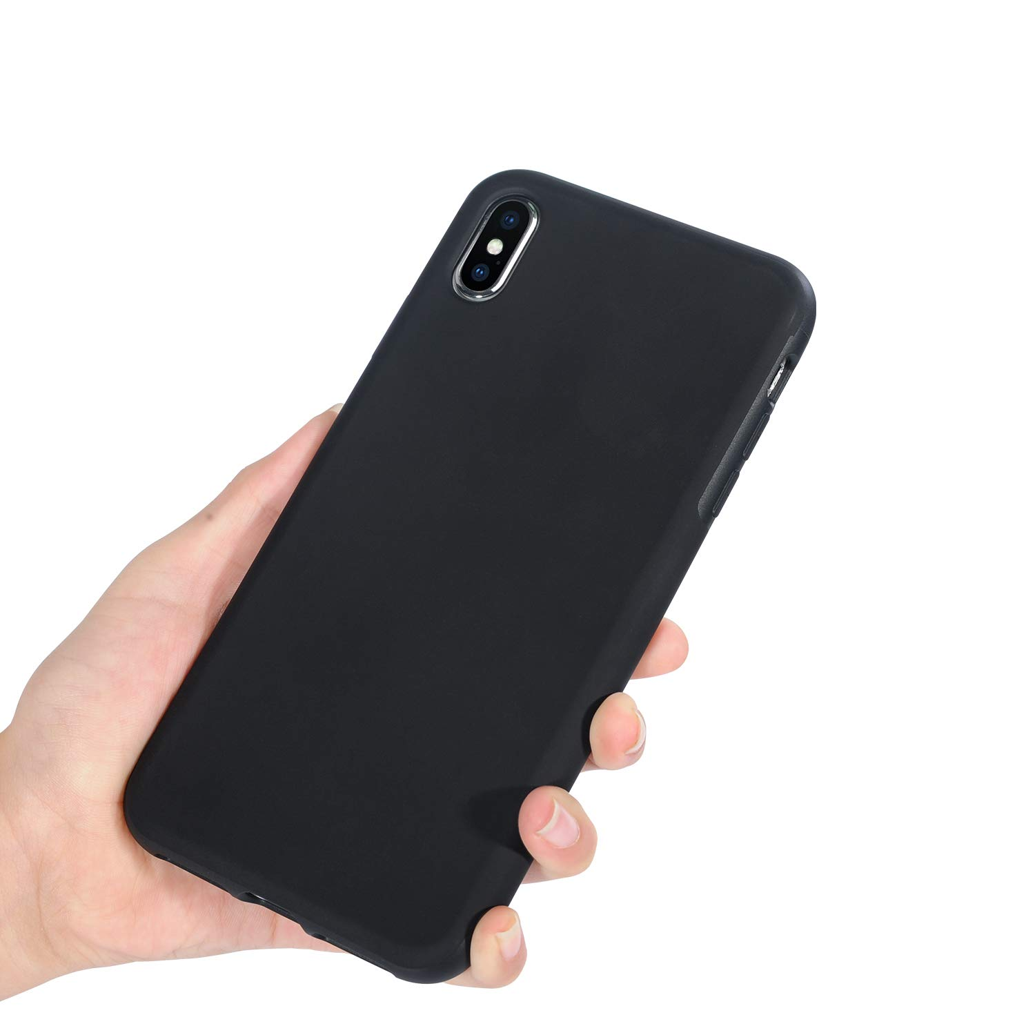 Mthinkor Compatible With Iphone Xs Max Case Liquid Goospery 5 Style Lux Jelly Black Silicone Leather Cell Phones Accessories