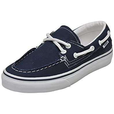 11beb5906b0 Vans Unisex Zapato Del Barco Comfort Boat Shoes Navy True White 5 B(M) US  Women   3.5 D(M) US Men  Buy Online at Low Prices in India - Amazon.in