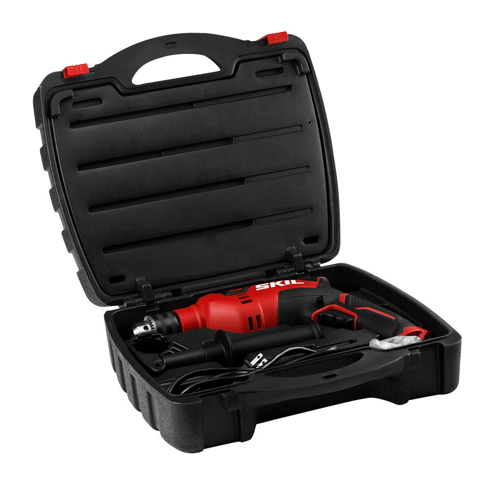 SKIL 7.5 Amp 1/2-in Corded Hammer Drill with 100Pcs Accessory set
