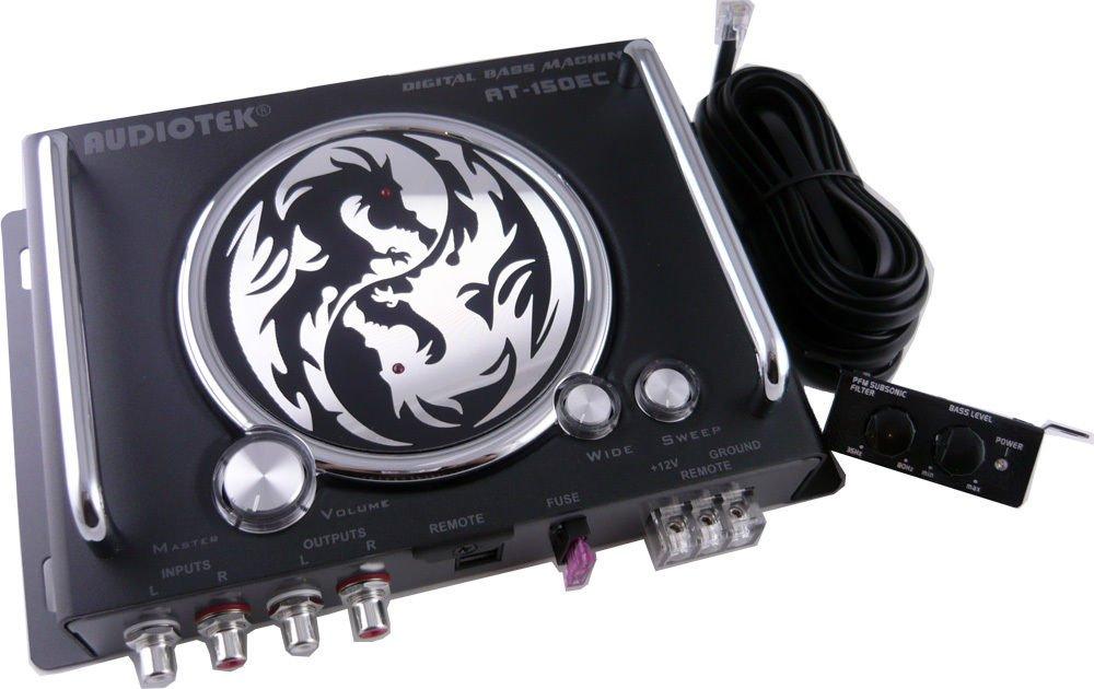 New AUDIOTEK AT-150EC Bass Processor EPICENTER Digital SUB Reconstruction