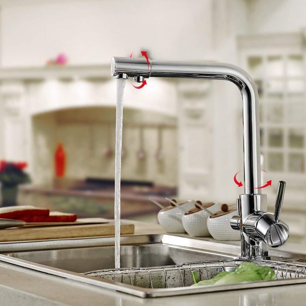 Good quality Robinet deau de lavabo Robinet de Cuisine équipée dun lavabo deau Froide de robinets pour Faire Tourner Le Lave-Vaisselle en cuivre Fin de lavabo Fournitures de nettoyage et d'entretien