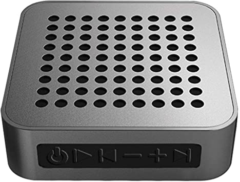 Amazon Com Portable Bluetooth Speaker Built In Mic For Iphone Samsung Andriod Pc Laptop 20 Hour Playtime 100ft Bluetooth Range For Party Travel Outdoor Silvergrey Electronics