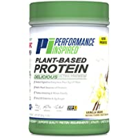 Performance Inspired Nutrition Plant-Based Protein, Vanilla Bean, 1.5 Lb - Style #: Ppv