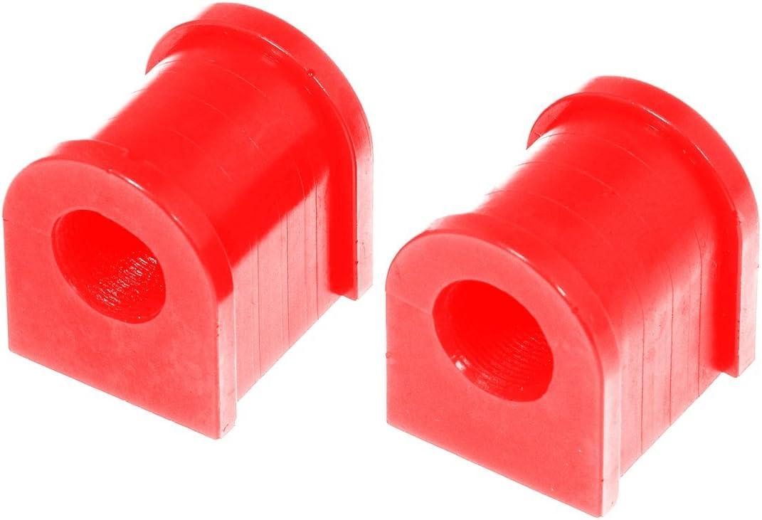 Prothane 18-1104 Red 23 mm Front Sway Bar Bushing Kit