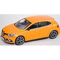 Norev - Renault - Megane Iv RS - 2017 Voiture Miniature de Collection, 310903, Orange Métal