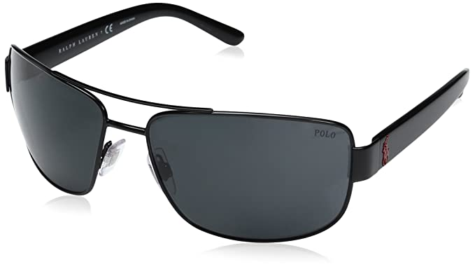 Ralph Lauren POLO 0PH3087 Gafas de sol, Semi Shiny Black, 64 para ...