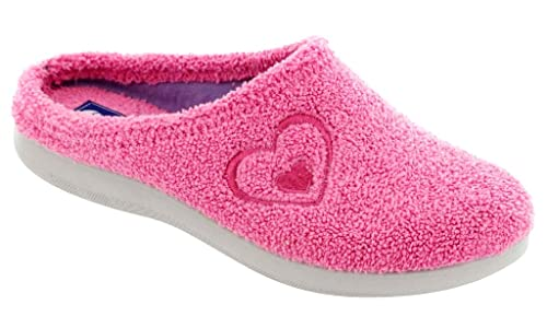 INBLU Pantofole Ciabatte Invernali da Donna Art. BS-32 Spugna Fuxia (35) 2fc22938bde