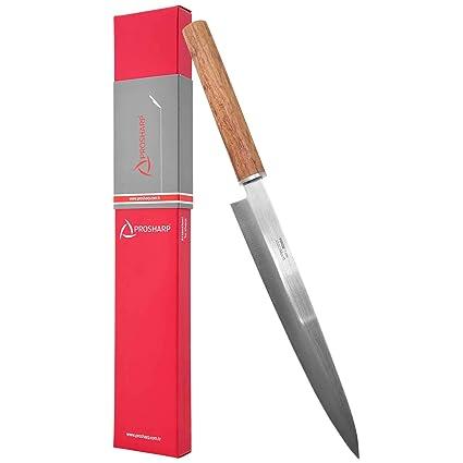 Pirge PROSHARP Cuchillo de Cocina Tradicional japonés Profesional | Cuchillo Sushi Inoxidable | Resistencia a la corrosión | Mango ergonómico de ...