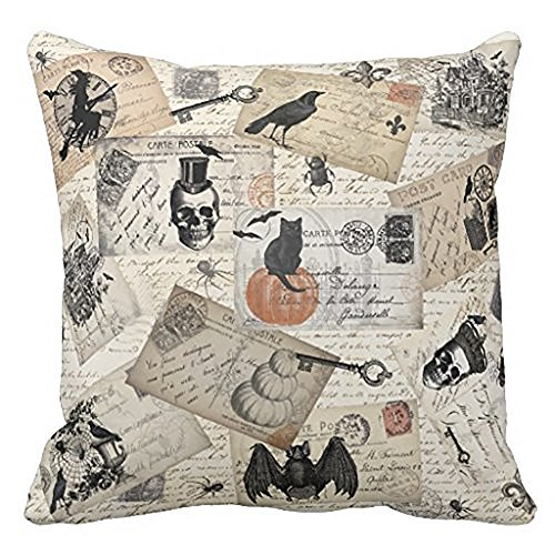 HomeMals Halloween Theme Pillow Covers Halloween Boo and Pumpkin Throw Pillow Case Daily Decorations Sofa Throw Pillow Case