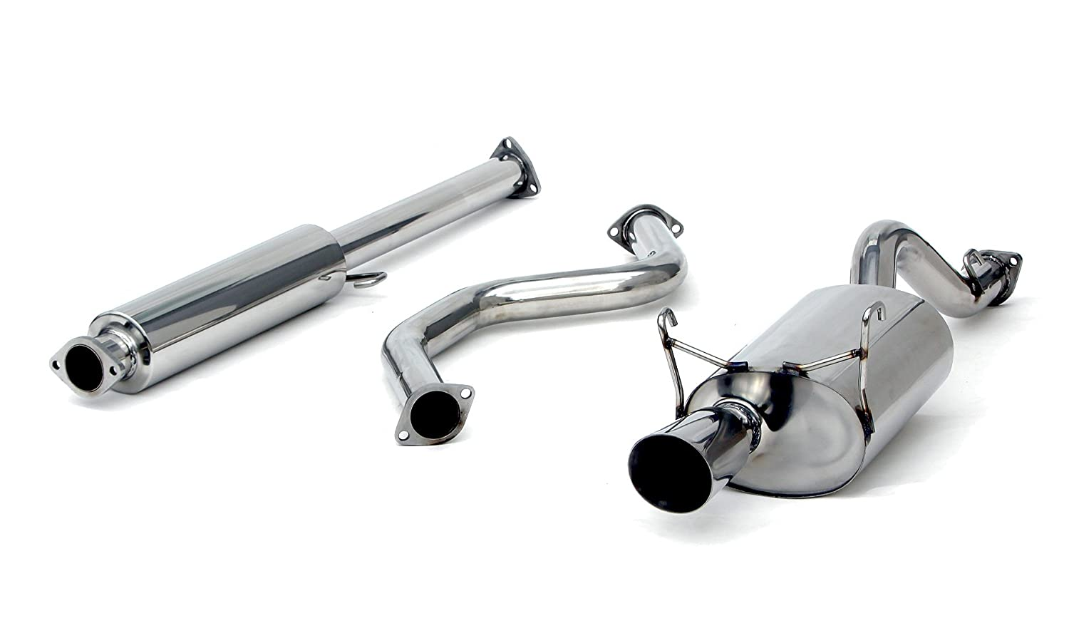 Yonaka Acura Integra 94-01 DC2 Full Performance Catback Exhaust 2DR Coupe Only